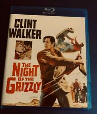 COLLECTORS OLIVE FILMS OF382 BLU-RAY CLINT WALKER THE NIGHT OF THE GRIZZLY