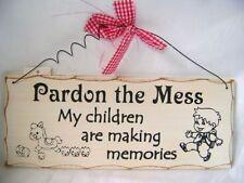 Wooden Patternless Decorative Plaques & Signs
