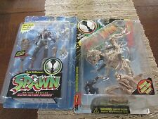 1996 McFarlane Lot of 2 Spawn Figures She-Spawn and Scourge NIB w/ cards intack