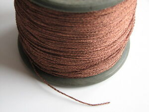 1 meter Tinsel Braided Flexible Wire Ø 1,0 mm to the Voice Coil   New Old Stock