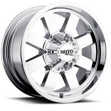 20 Inch Chrome Wheel Rims Ford F F250 F250 Truck SuperDuty Moto Metal MO962 20x9