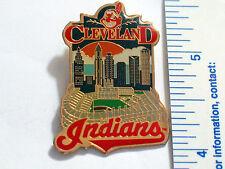 Cleveland Indians Stadium Baseball Lapel Pin Badge 1996  (B2)