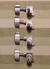 Schaller M4-2000 Bassmechaniken mattchrom, 4 links