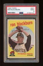 1959 Topps Set Break #401 - Ron Blackburn PSA 9 MINT