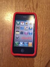 APPLE  IPhone 4/4S Soft Gel Red  Case New In Package