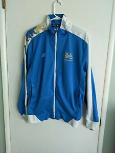 UCLA Bruins Adidas Climalite team issue size large Track and Field jacket NCAA