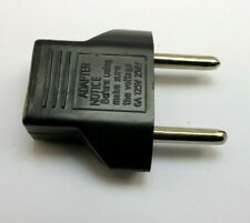 US USA to EU Euro Europe adapter Power Jack Wall Plug Converter Travel Adapter