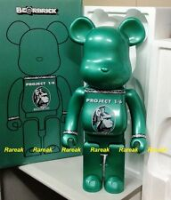 Medicom Be@rbrick 2015 Project 1/6 Centurion 1000% Chrome Green Color Bearbrick