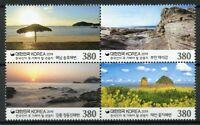 South Korea Stamps 2019 MNH Tourism Landscapes Beaches Nature 4v Block