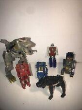 vintage transformers and go bots lot damage!