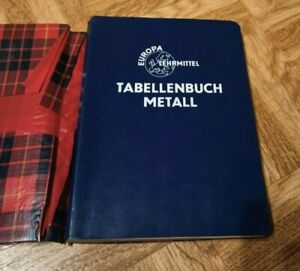 Tabellenbuch Metall Europa Lehrmittel