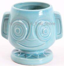 NEW Disney World Trader Sam's Grog Grotto Hippopato Mai Tai TEAL Tiki Mug Cup