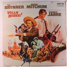 SOUNDTRACK: Villa Rides! LP (Canada, original black label w/ multicolored logo,
