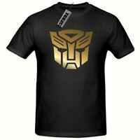 Transformers tshirt, Gold Slogan Children's tshirt, Kids Gaming tshirt