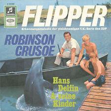 """7"""" - Hans Delfin & i suoi figli-Flipper/ROBINSON CRUSOE-Columbia 23692"""