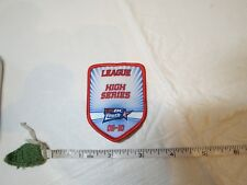 League High Series USBC United States Bowling Congress adult youth patch award