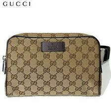 Gucci Cinturón de la cintura bolsa Fanny Pack 449174 GG Guccissima Lona Nuevo Con Etiquetas