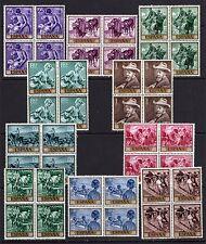 España 1964. Pintor Sorolla en bloque de 4. Ed 1566 / 1575. MNH. **.