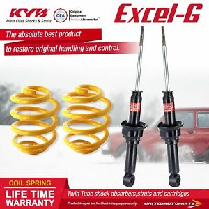 Rear KYB EXCEL-G Shock Absorbers Super Low King Springs for HONDA CRX ED9 Coupe