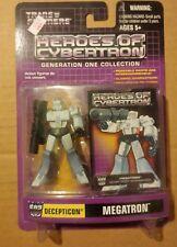 Transformers Heroes of Cybertron MEGATRON SKYWARP STARSCREAM G1 Collection PVC