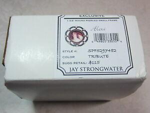 "JAY STRONGWATER 1.3/4"" Pierced Round Enamel Picture FRAME Swarovski Crystal NIB"