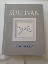 Sullivan Hardcover Precalculus Book with unopened CD