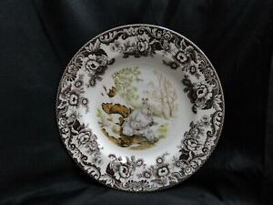 "Spode Woodland Winter Scenes Snowshoe Rabbit: Dinner Plate (s), 10 3/4"", Box"