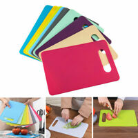 Coloured Chopping Board Set | Non-slip Index Cutting Boards With Stand#gh