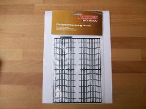 Vollmer 45009 Fabrikzaun Sortiment Zaun H0 Zaun Industriezaun Fabrik Bausatz Neu