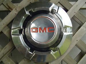 1 GMC CHEVROLET PICKUP TRUCK JIMMY VAN DOGDISH HUBCAP WHEEL COVER CENTER CAP 3/4