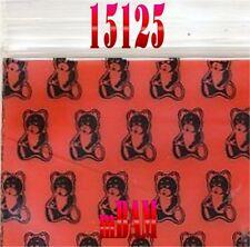 """100 PACK RED TEDDY BEARS 15125 Apple Ziplock Baggies 1.5X1.25"""" Mini Bags BEAR"""