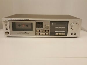 Onkyo TA-2022 Stereo Cassette Tape Deck  Player Tested Works Awesome!
