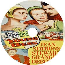 Young Bess (1953) Jean Simmons Stewart Granger Deborah Kerr Rare DVD