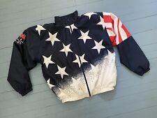 New listing Rare Vtg 1996 Usa Basketball Dream Team American Flag Champion Jacket size xl