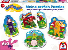 6 X 3 teile Schmidt spiele Kinder Kontur Puzzle Teletubbies ersten Puzzles 56242
