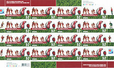 Canada Scott # 2220 FIFA World Soccer Championships Uncut Stamp Sheet MNH