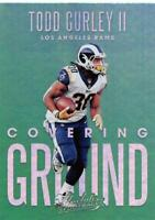 2018 Panini Absolute Covering Ground Inserts NFL Football Card Singles You Pick