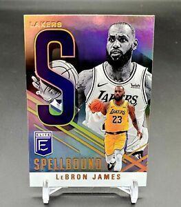 "2020-2021 DONRUSS ELITE LEBRON JAMES SPELLBOUND CARD #15 ""S"" LAKERS"