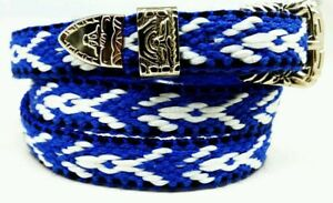 Multi-Colored Western HATBAND with Buckle Set List #5 Cowboy Cowgirl Hat Band