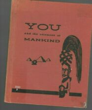 You and the Sciences of Mankind- Ray Broekel- 1956- HB- ex-library- Mary Gehr
