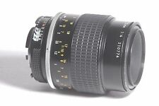 Nikon Micro Nikkor 105mm f/4 Camera Lens Ai SN 210774 *AS-IS*