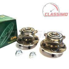 Front Wheel Bearing Hub Pair for LAND ROVER RANGE ROVER SPORT L320 - 2005-2013