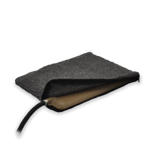 """K&H Pet Products Small Animal Heated Pad Deluxe Replacement Cover Gray 9"""" x 12"""""""