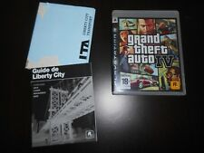 Jeu Sony Playstation 3 Grand theft auto IV complet