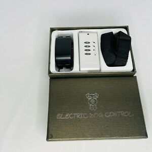 ELECTRIC DOG CONTROL WITH TONE & SHOCK in box see photos