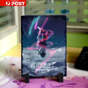 AU Anime Kimi no Na wa Your Name Sky 20cm x15cm Stone Painting Collection Gift
