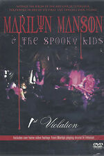 Dvd **MARILYN MANSON & THE SPOOKY KIDS ♦ 1° VIOLATION** nuovo Import 2003