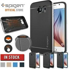 Spigen Sgp11422 Case Backcover Cover Samsung Galaxy S6 Edge Black