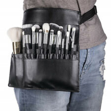 22 Pockets PU Leather Makeup Cosmetic Brush Apron Bag Pouch Artist Belt Strap