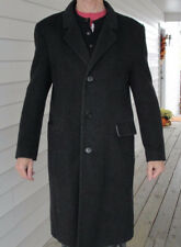 Vintage Teller Cashmere Mens Gray Coat Hungary Jacket Overcoat Size 42R (S)